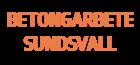 Betongarbete Sundsvall